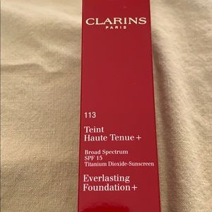 Clarins everlasting foundation New never used